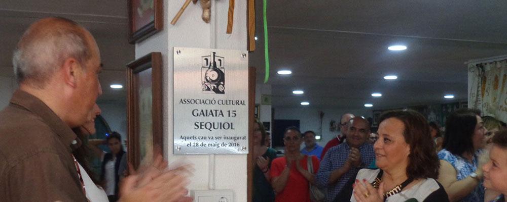Inauguración nueva sede sequiolera
