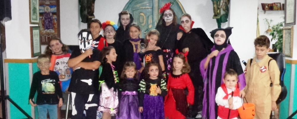 Halloween al cau