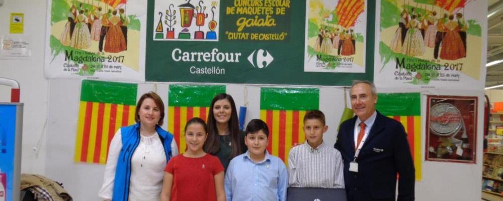 Entrega premios maquetas Carrefour