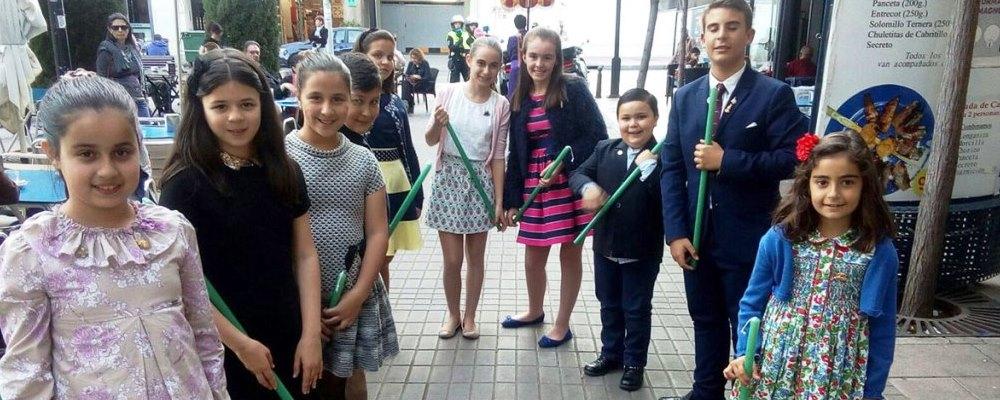 Procesión Infantil y Juvenil de la Cofradía de Santa María Magdalena