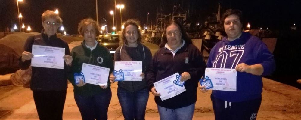 Concurso femenino de pesca