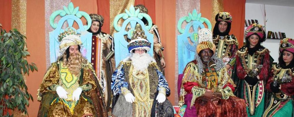 The visit of the Three Wise Men of the East