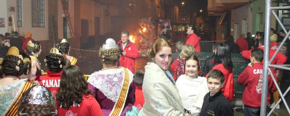 Fallas in Burriana and Vall d'Uxó